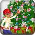 美丽圣诞树装饰