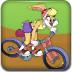 罗拉兔骑自行车