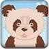 照顾可爱熊猫