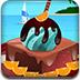 异国的巧克力蛋糕