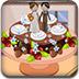 巧克力香草斑马蛋糕