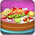 制作七彩水果蛋糕