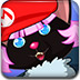 万圣节的小黑猫