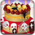 可爱万圣节蛋糕