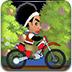怪蜀黍骑摩托