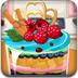 制作英式蛋糕水果杯