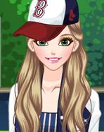 女孩的棒球夹克