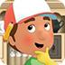 巧手工匠修理房屋
