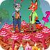 疯狂动物城生日蛋糕