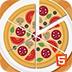 对称的披萨