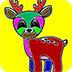 可爱小鹿图画册