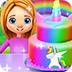 彩虹��角�F蛋糕