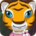 救援雌性老虎