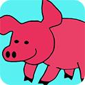 可爱小猪图画册