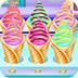 甜筒冰淇淋