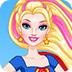 帅气的女超人