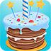 生日蛋糕拼图