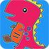 卡通恐龙图画册小游戏