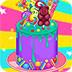 糖果大蛋糕