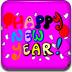 新年快乐填色